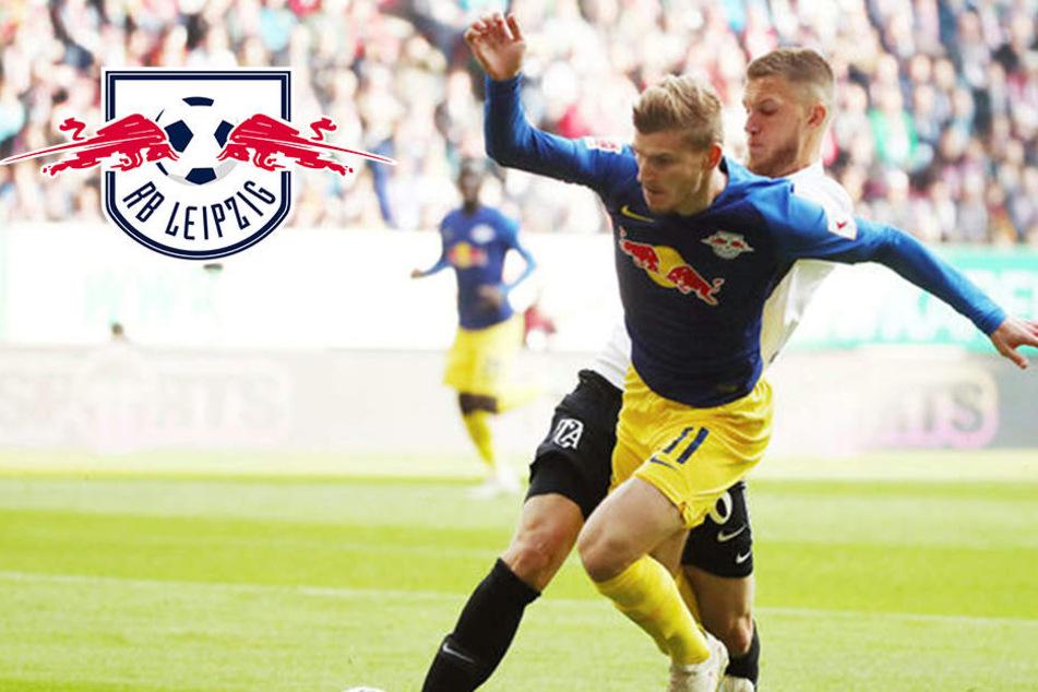 RB Leipzig müht sich bei strittiger Werner-Szene zu 0:0 in Augsburg
