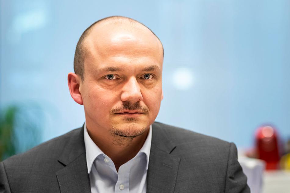 """Sven Wöhl (46) von den Linken erkennt keinen Sinn im """"Tier-Export"""". Zudem könne Röhrsdorf keine Reptilien aufnehmen."""