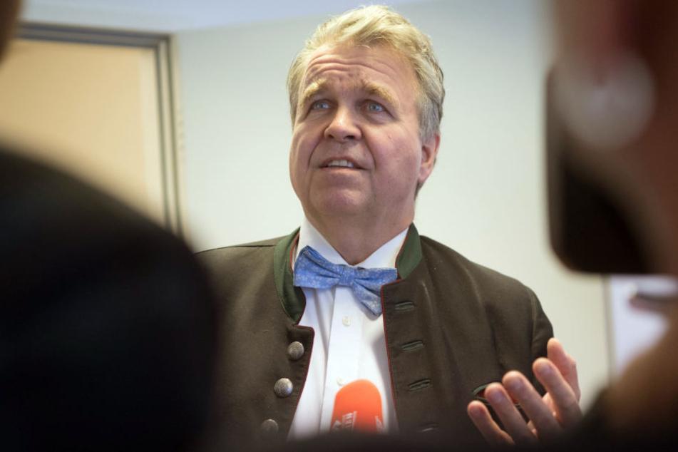Hat seinen Austritt aus der Partei und der Landtagsfraktion erklärt: Heinrich Fiechtner.