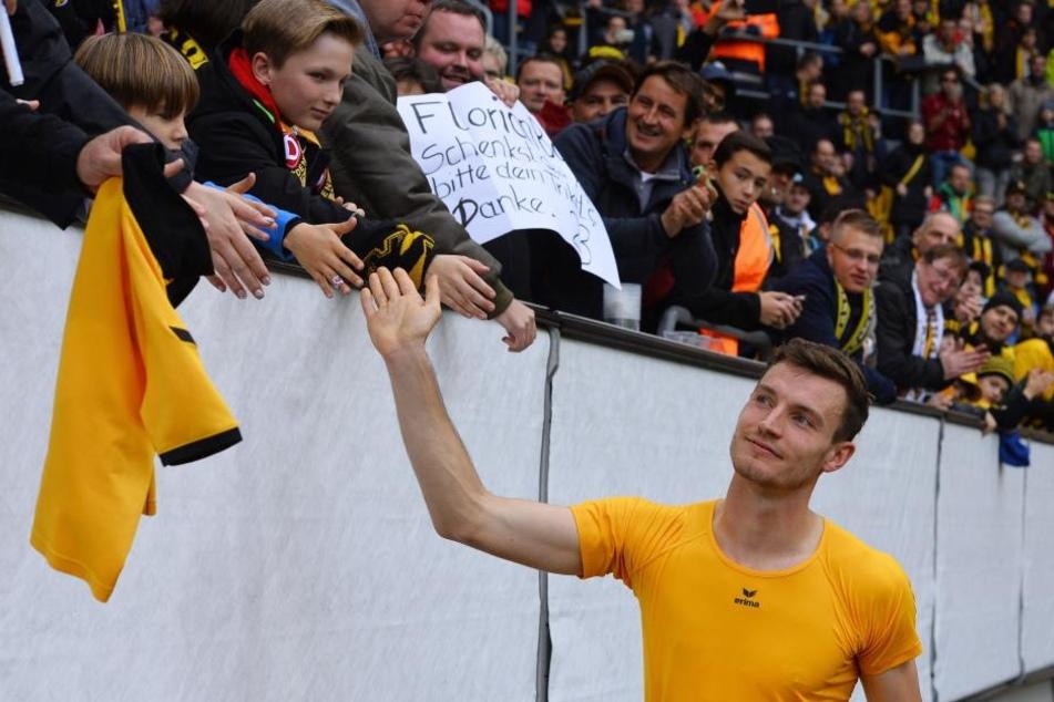 Die Dynamo-Fans hat Florian Ballas  mittlerweile von sich überzeugt.