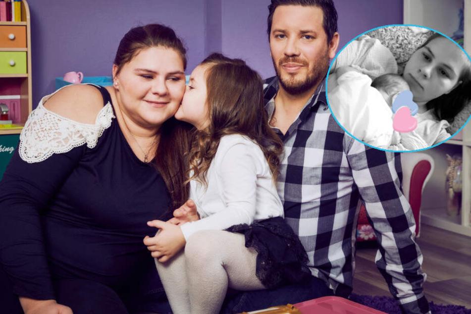 Namen und Geschlecht geheim: Hier zeigt Sylvana Wollny zum ersten Mal ihr Baby