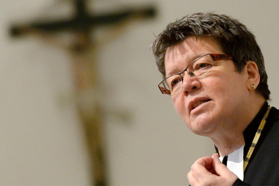 Landesbischöfin Ilse Junkermann rief dazu auf, sich klar von solchen Gewaltakten zu distanzieren und sie nicht zu verharmlosen.