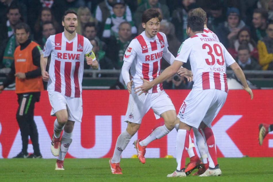 Osakos Treffer ließ die Kölner wieder hoffen.