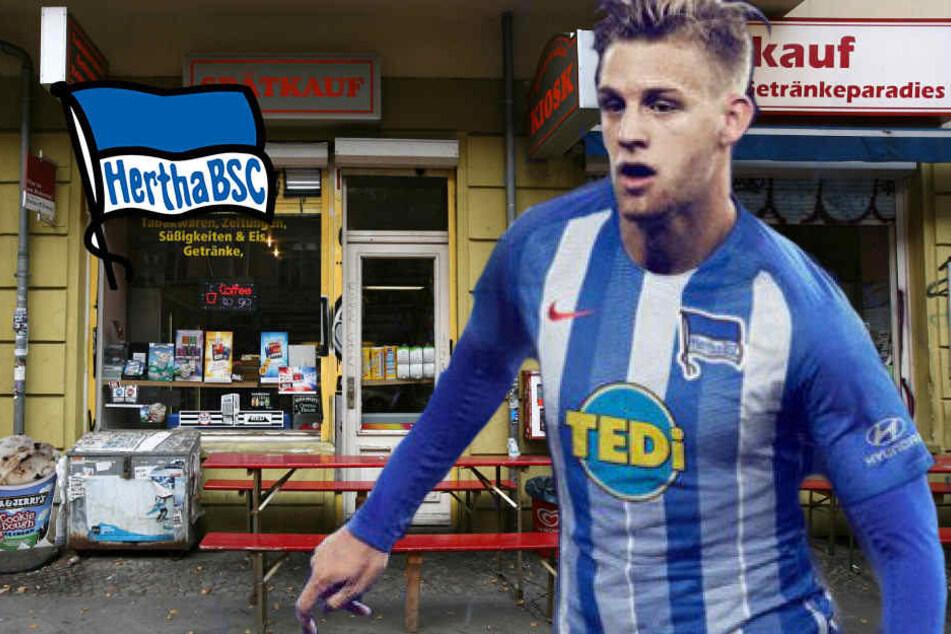 Hertha verkauft seine Trikots jetzt auch im Späti