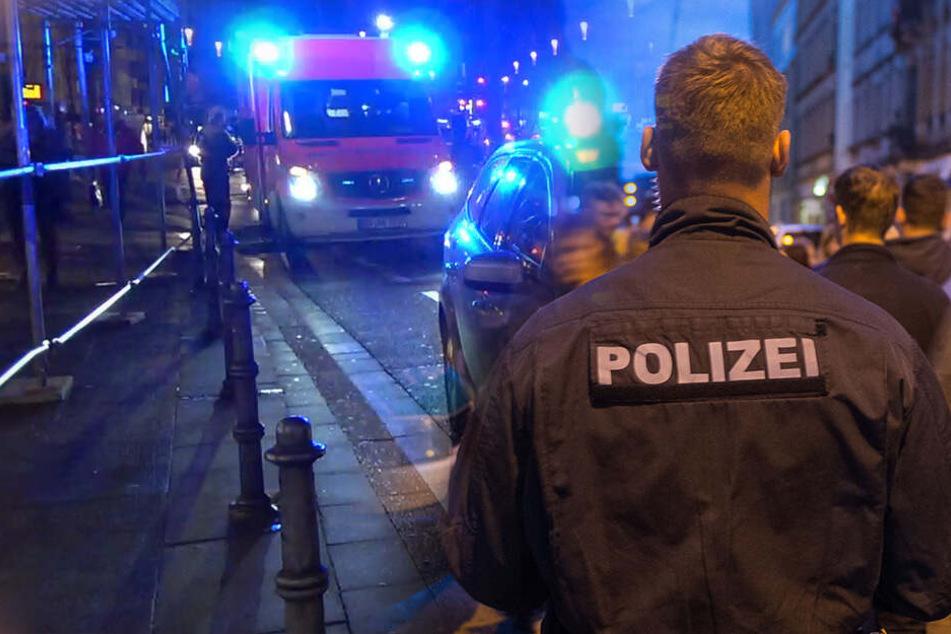 37-Jähriger in Dresdner Neustadt brutal ausgeraubt: Not-Operation!
