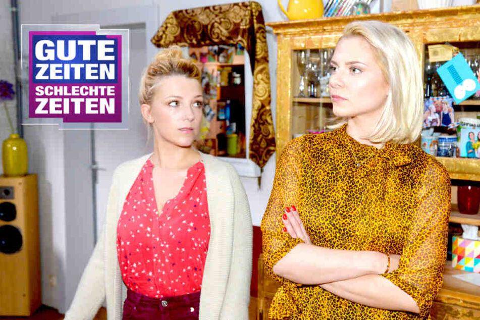 Sunny eifersüchtig auf Lilly: Bröckelt diese GZSZ-Freundschaft?