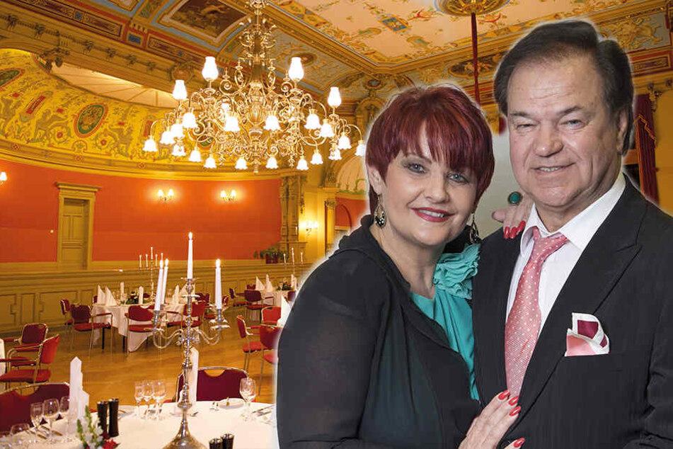Dresden: Andrea & Wilfried Peetz tanzen jetzt im Ballsaal am Wasaplatz