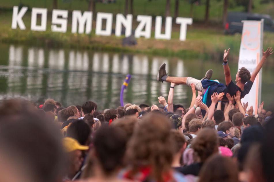 Das Kosmonaut Festival fand seit 2006 am Stausee Rabenstein statt. Nun verabschiedet sich das Kult-Festival.