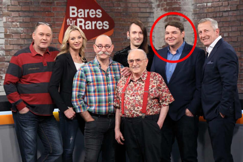Das Händlerteam von Bares für Rares. Im roten Kreis: Daniel Meyer aus Münster