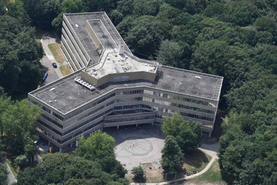 Das Gebäude der Außenstelle des Bundesamtes für Migration und Flüchtlinge (BAMF).