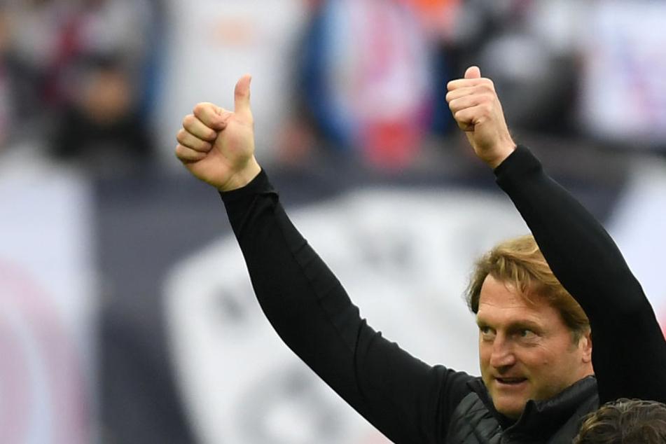 Hält die Siegesserie gegen Leverkusen? RB-Coach Ralph Hasenhüttl hofft es.