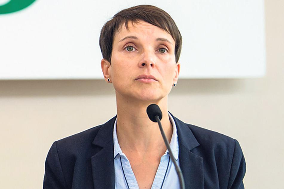 Ein Wiedereinzug von Ex-AfD-Chefin Frauke Petry in den Bundestag ist eher unwahrscheinlich.