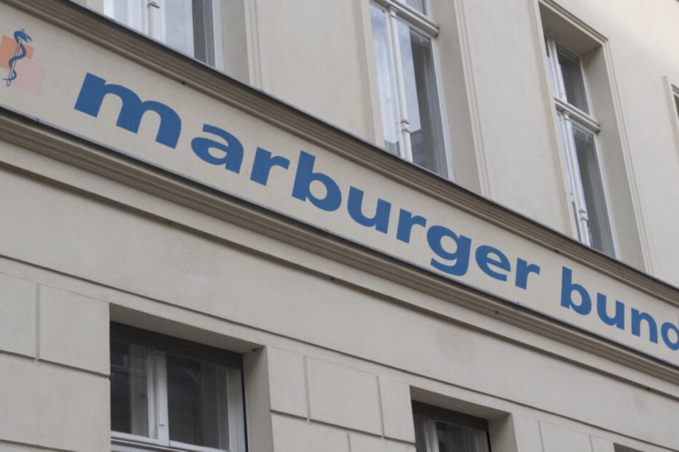 Die Ärztegewerkschaft Marburger Bund hat zum bundesweiten Streik aufgerufen. (Archivbild)
