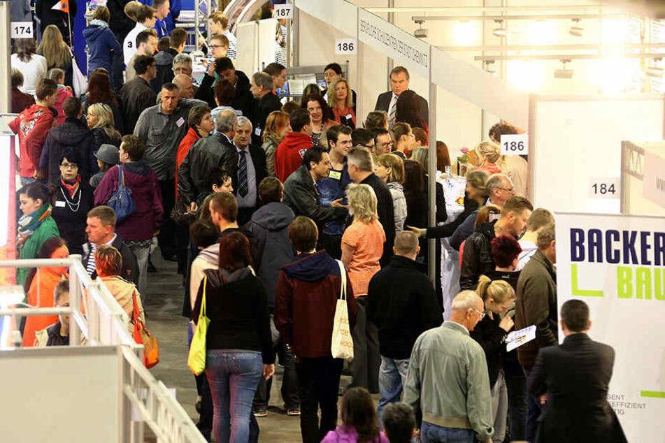 """Die """"azubi- & studientage"""" lockten Tausende Besucher in die Messe. Ist jetzt die Schau Geschichte?"""