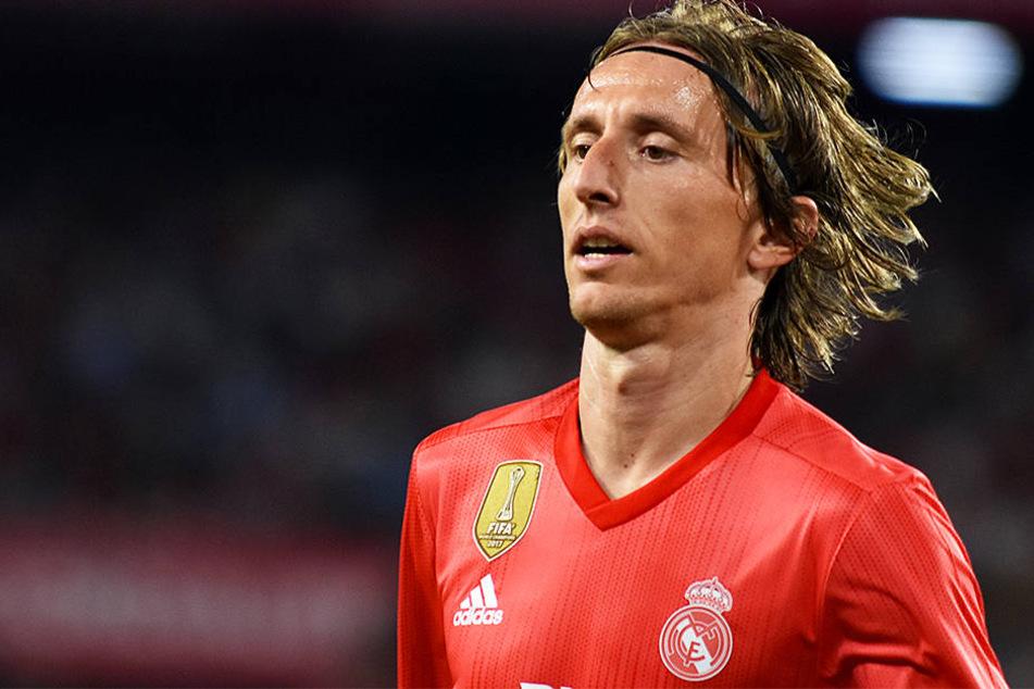 Luca Modric, der Weltfußballer des Jahres 2018 verlor mit Real Madrid mit 0:3 beim FC Sevilla.