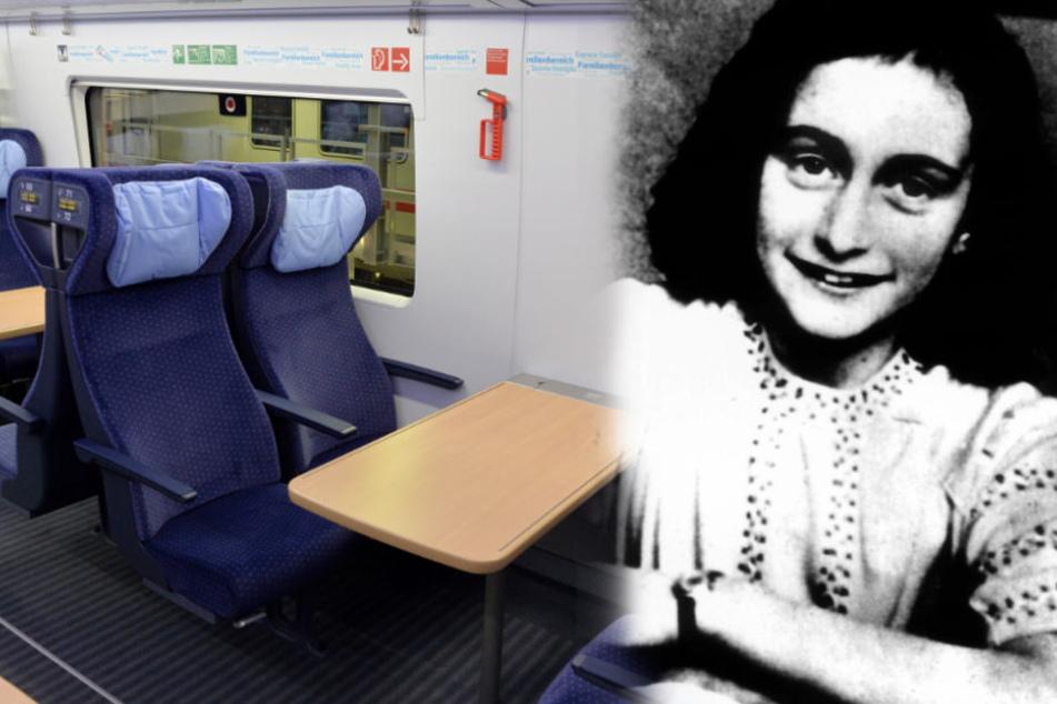 Geschmacklos? Einer der neuen ICE soll den Namen Anne Frank tragen.
