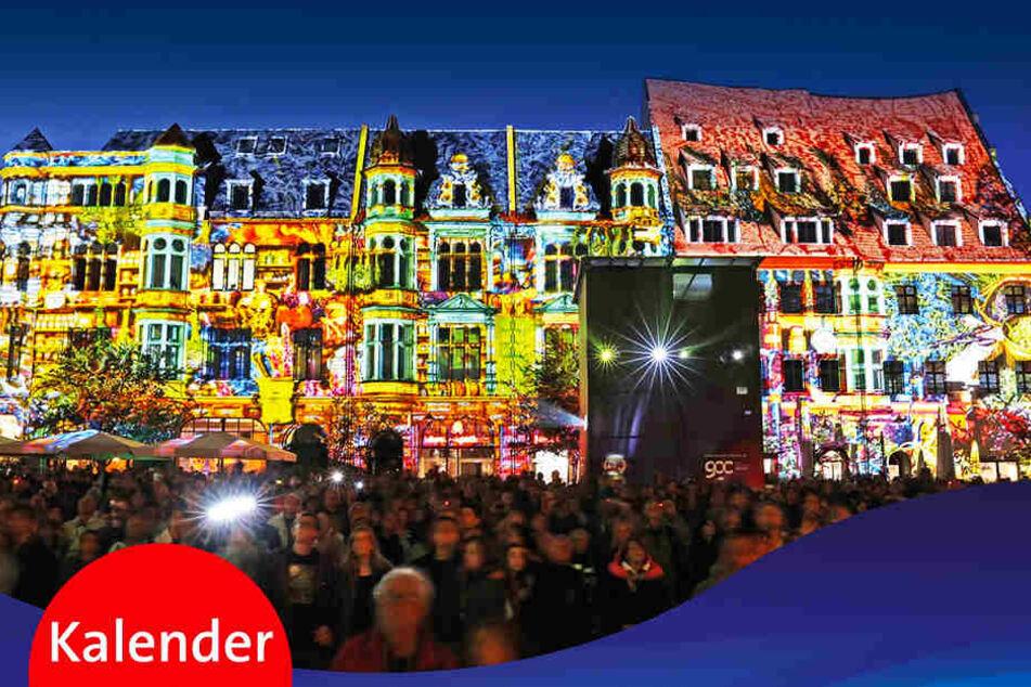 """Das Zwickauer """"Festival of Lights"""" bekommt seinen eigenen Kalender."""
