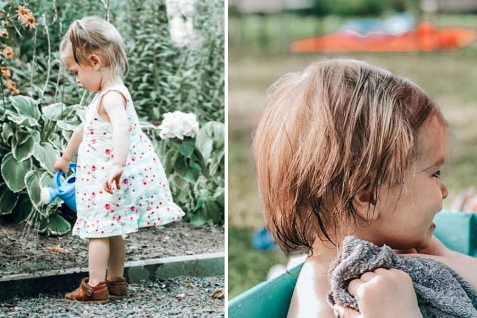 In letzter Zeit ist erstaunlich viel vom Gesicht von Isabell Horns Tochter zu sehen. Wird sie uns bald noch mehr zeigen?