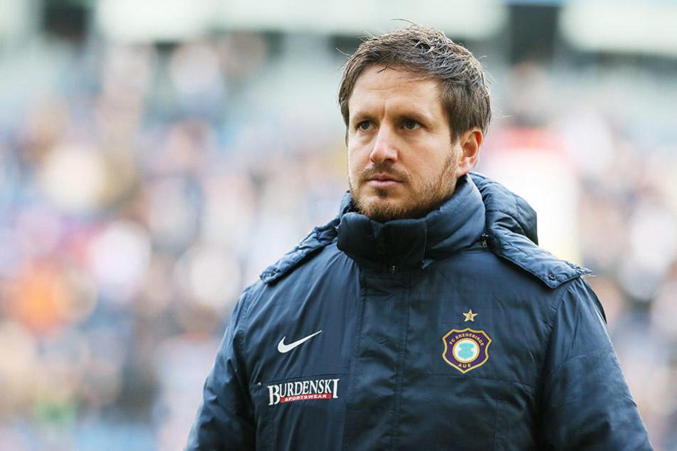 Schlechte Leistung, klare Niederlage - aber FCE-Coach Hannes Drews blieb dennoch ruhig und sachlich.