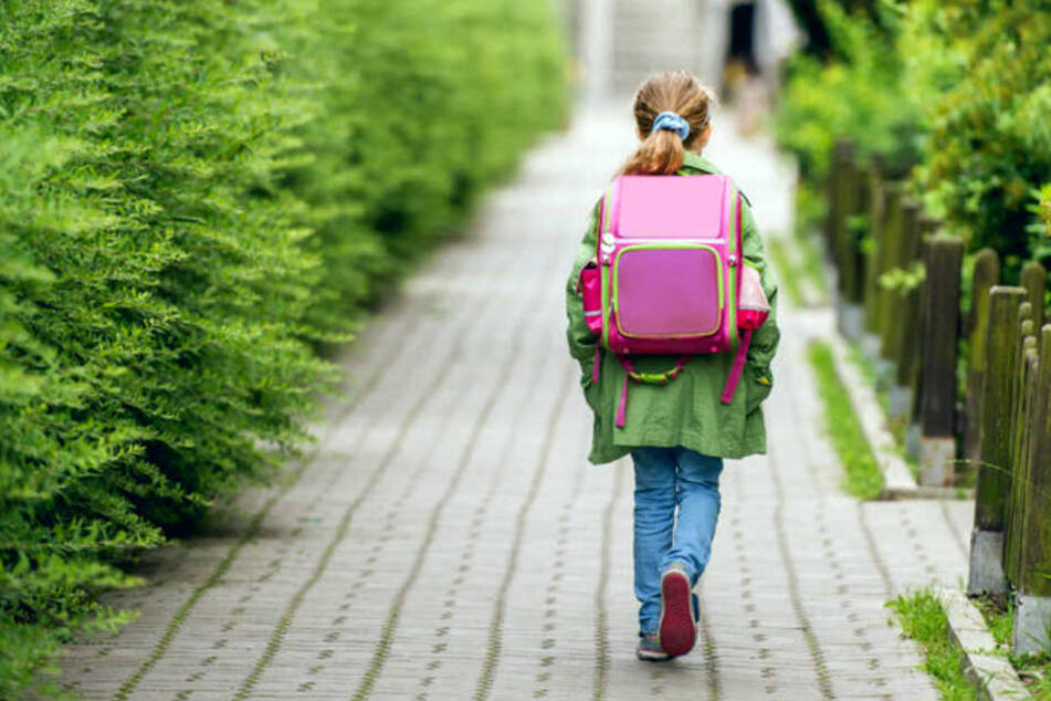 Auf dem Weg zur Schule wurde die Zehnjährige von dem Perversen überrascht.