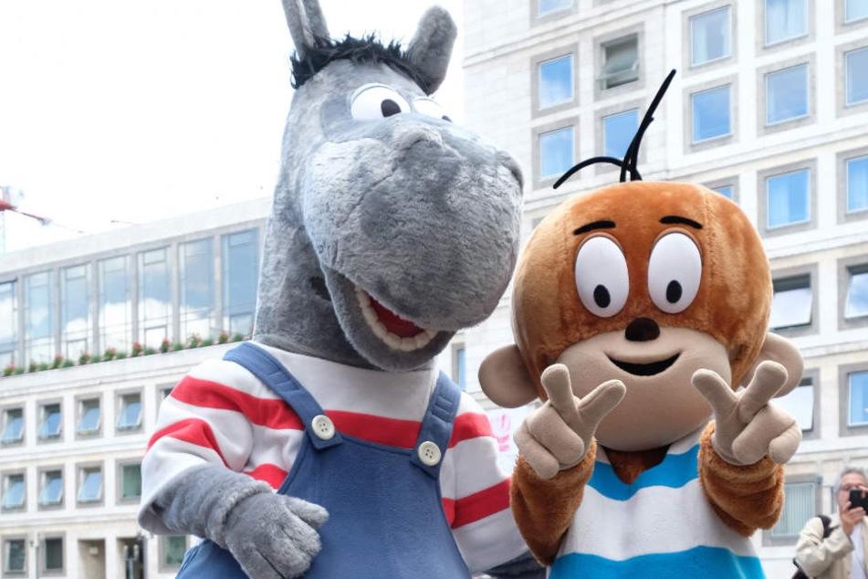 Äffle und Pferdle in der Stuttgarter Fußgängerzone. In der Landeshauptstadt wird es keine Ampel mit den beiden Figuren geben. Aber vielleicht in Ehingen? (Archivbild)