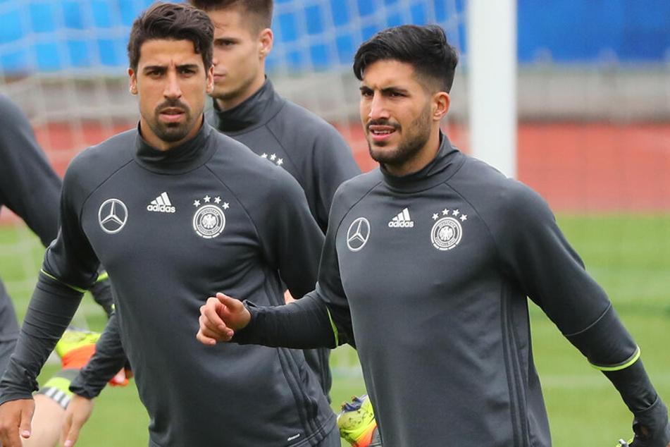 Einst noch Kollegen bei der deutschen Nationalmannschaft, bleiben sie nun zunächst bei Juventus Team-Kameraden. Jedoch vorerst nicht in der Champions League