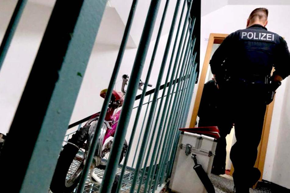 An seiner Wohnung wurde der Haftbefehl vollstreckt.