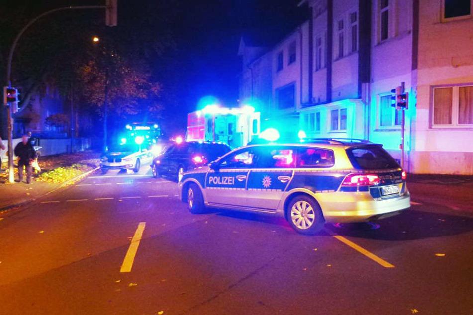 Der Betrunkene musste mit schweren Verletzungen ins Krankenhaus eingeliefert werden.