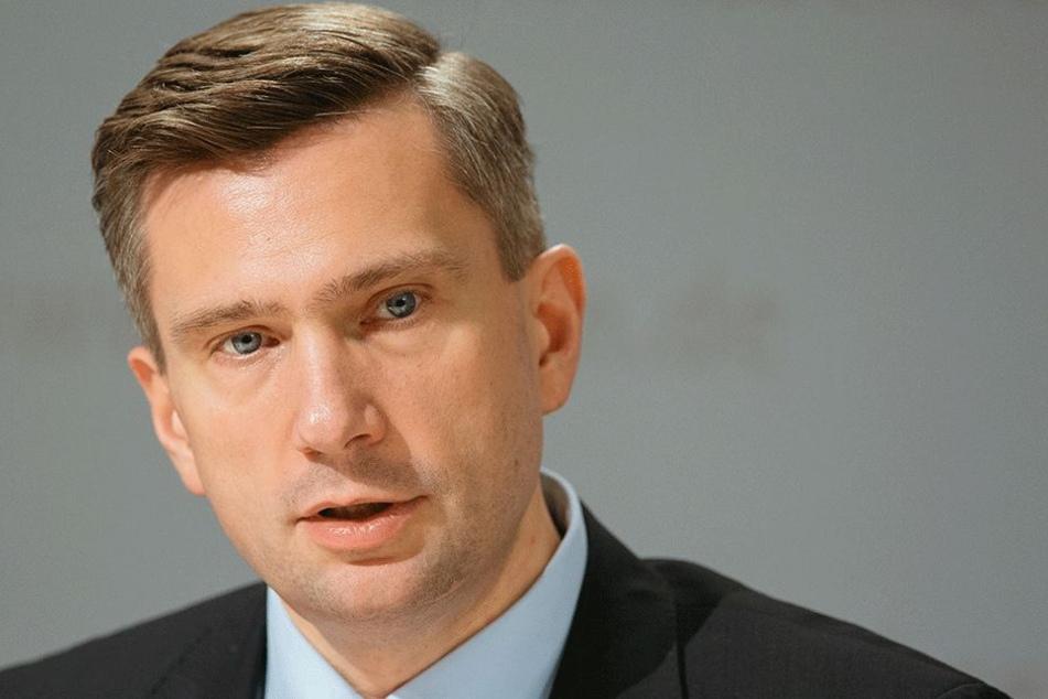 Martin Dulig (44, SPD).