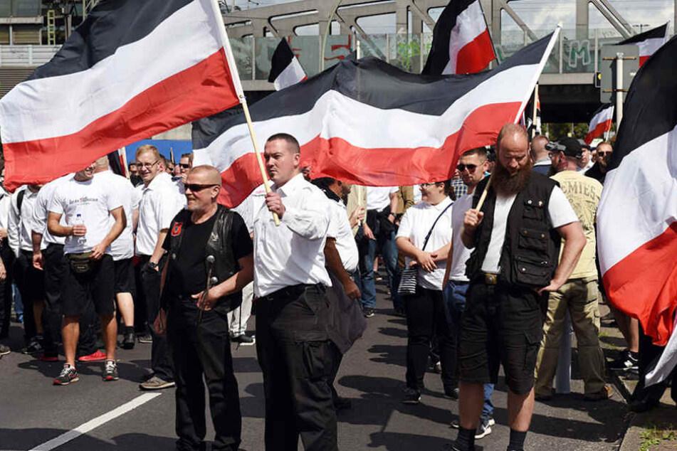In Berlin ging die Demo trotzdem wie geplant durch Spandau.