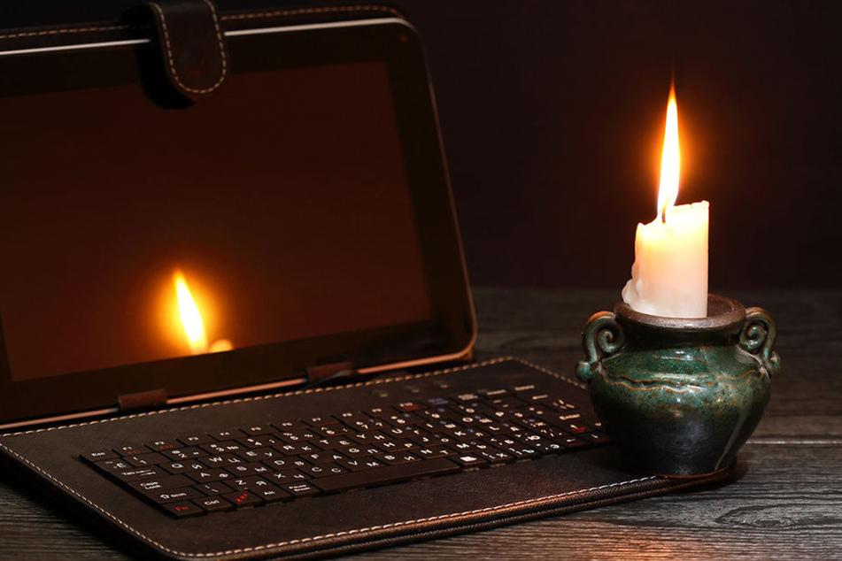 In vielen Haushalten viel der Strom aus. (Symbolbild)