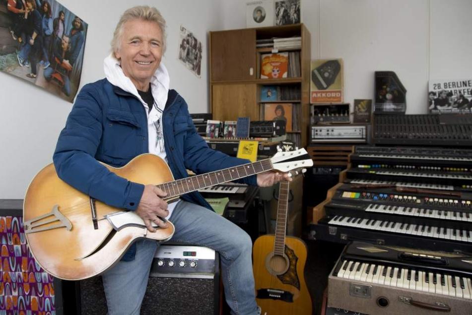 """Auch was """"Muck"""" Hartmut Schulze-Gerlach (69) komponierte, versah Dieter Schneider mit seinen Texten."""