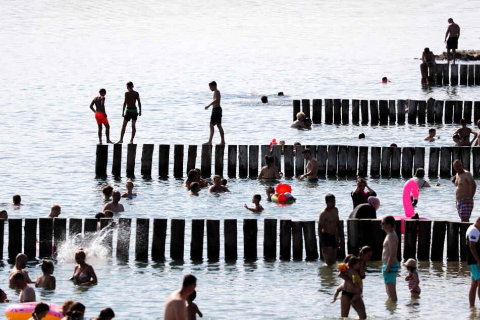Am Markkleeberger See hat sich erneut ein tragischer Badeunfall ereignet. (Archivbild)