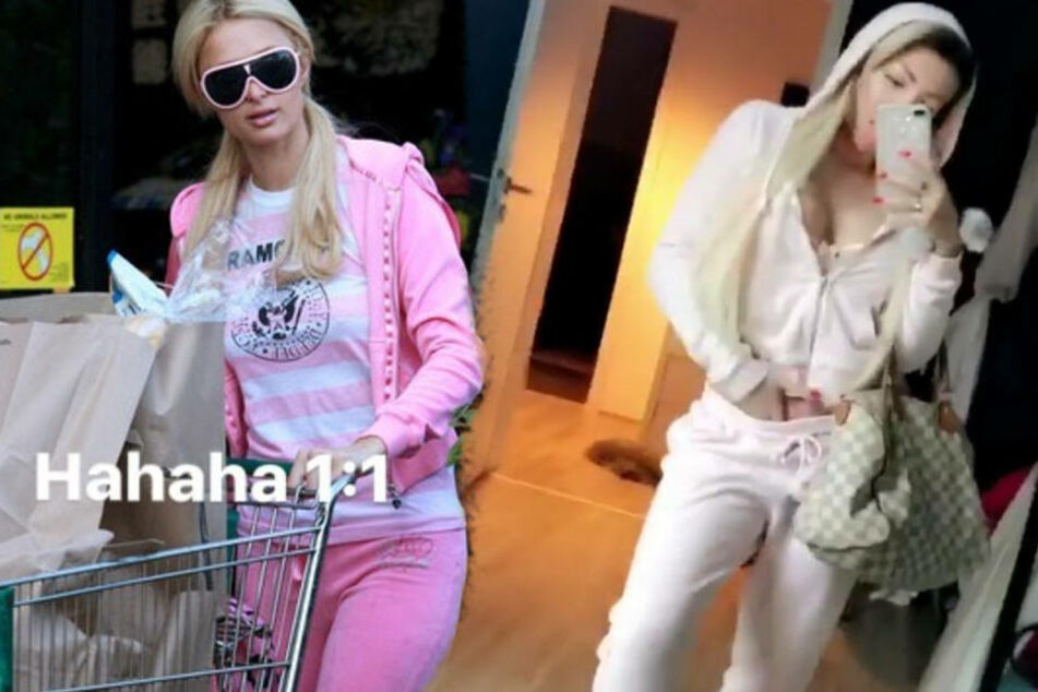 Paris Hilton oder Katja Krasavice: Wer trägt den geileren Jogginganzug?