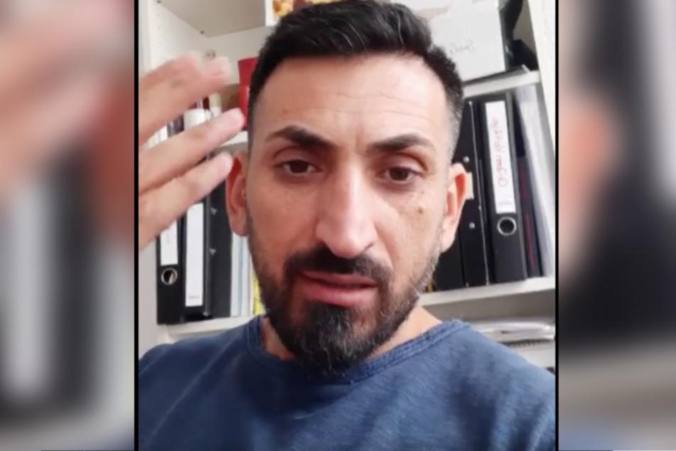 Mustafa Alin glaubt nicht an das Coronavirus.