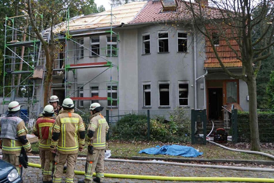 Lichtenrade Toter bei Wohnungsbrand