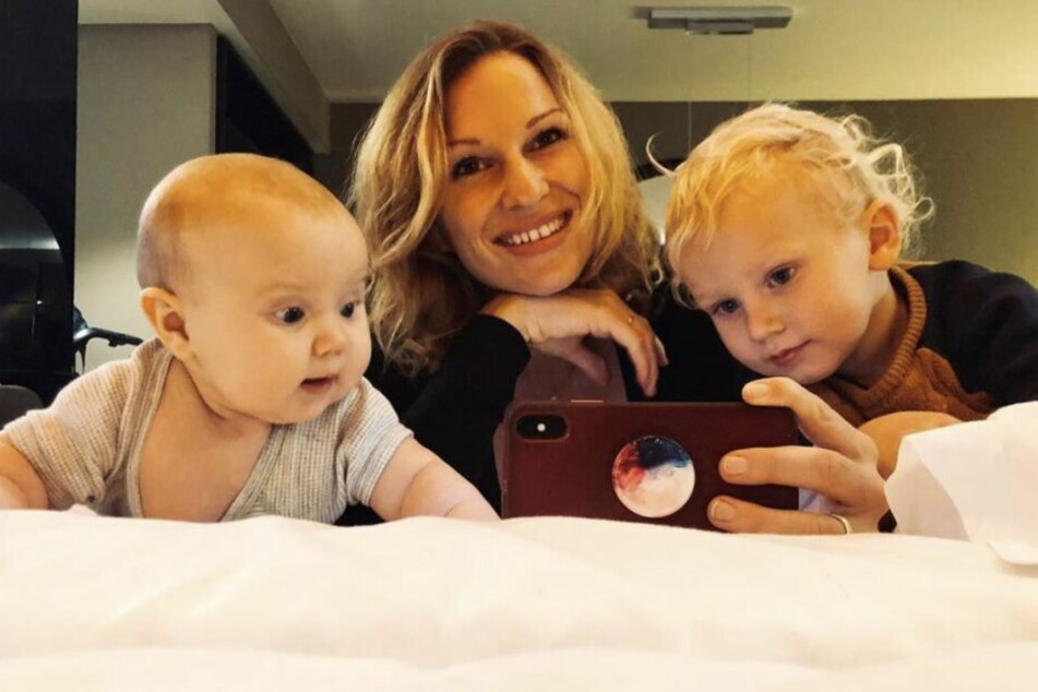 Janni Hönscheid (29) geht in ihrer Rolle als Mutter total auf.