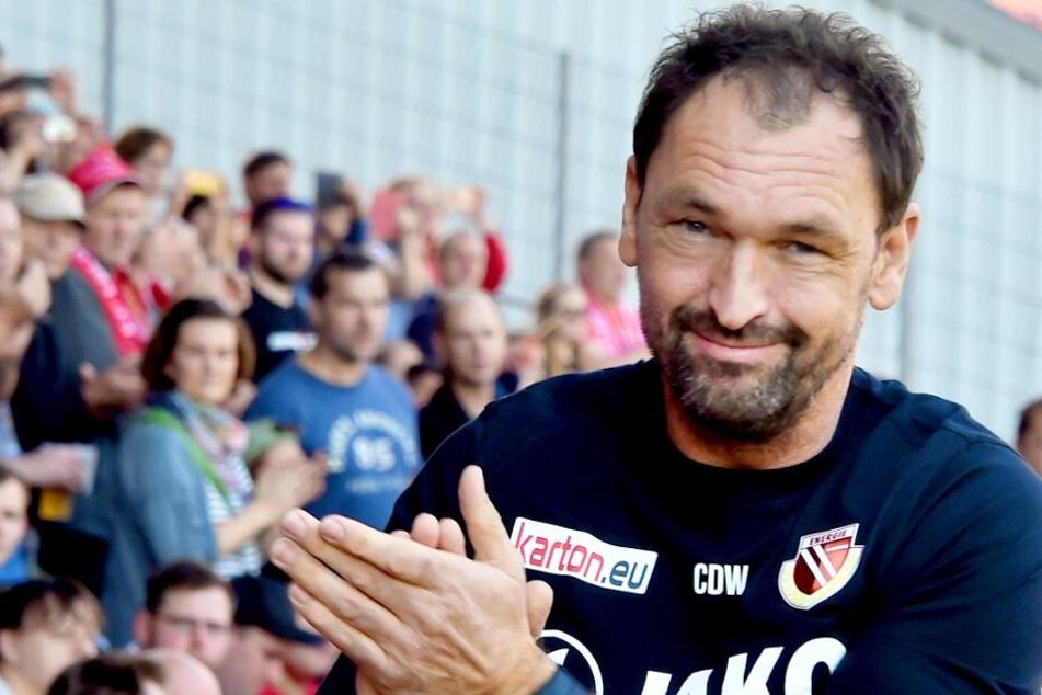"""Dreieinhalb Jahre arbeitete """"Pele"""" als Trainer für Cottbus."""