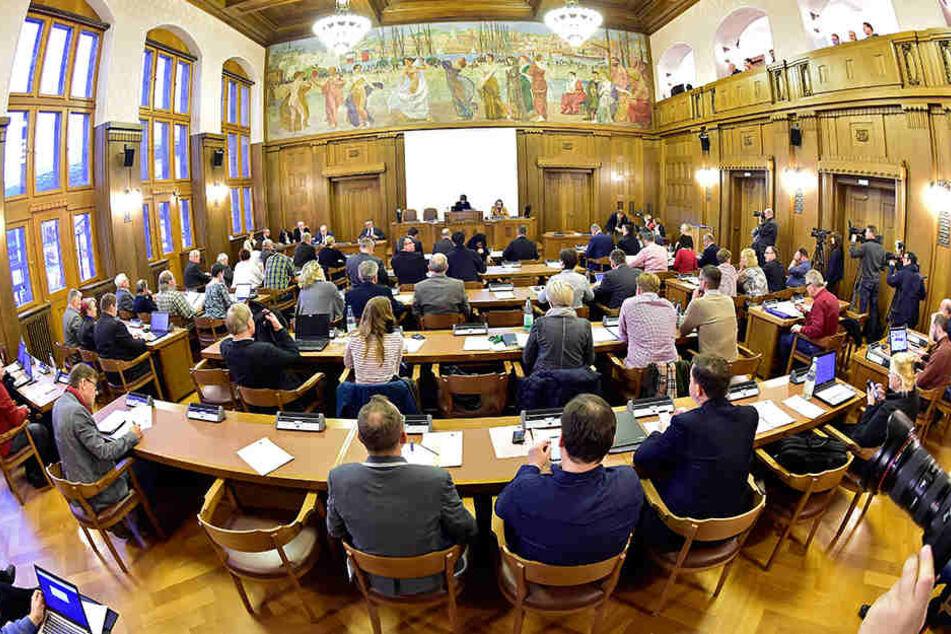 Auf einer Sondersitzung im Dezember hatte der Stadtrat über die Finanzhilfe beraten.