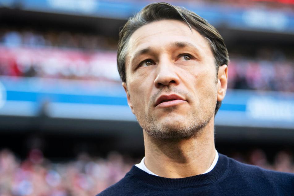 FCB-Coach Niko Kovac verglich seine Spieler mit einer Autobahnfahrt. (Archivbild)