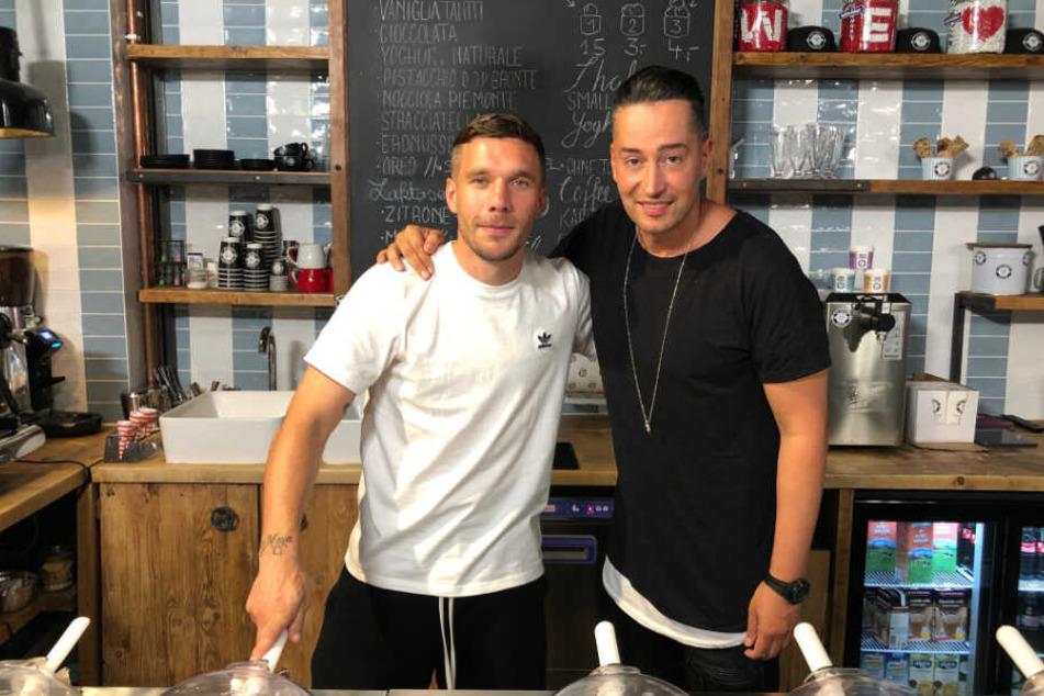"""Lukas Podolski ist bei der ProSieben-Show """"Farids Magische 13"""" zu Gast."""