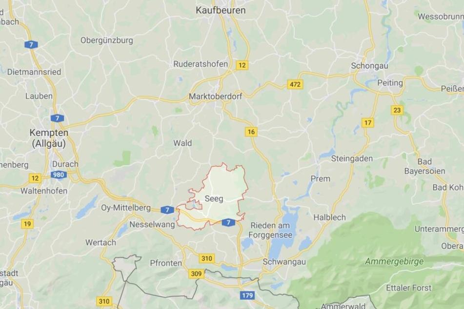 In Seeg im Landkreis Ostallgäu ist es in Bayern zu einem eher ungewöhnlichen Zwischenfall gekommen.