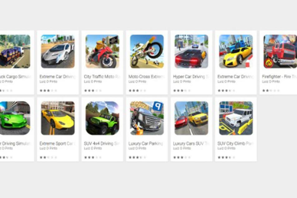 Um diese 13 Apps handelt es sich, betroffen sind Android-Nutzer.