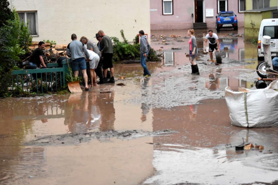 Schweres Unwetter wütet im Südwesten und sorgt für zahlreiche Schäden