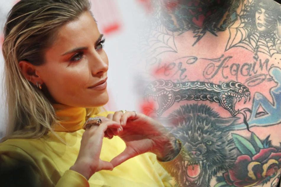 Andy LaPlegua ließ sich das Liebes-Tattoo für Sophia Thomalla überstechen.