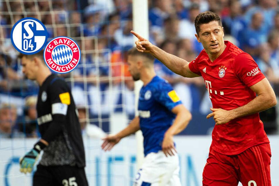 Er ist zu gut! Lewandowski-Dreierpack sichert dem FC Bayern den Sieg auf Schalke