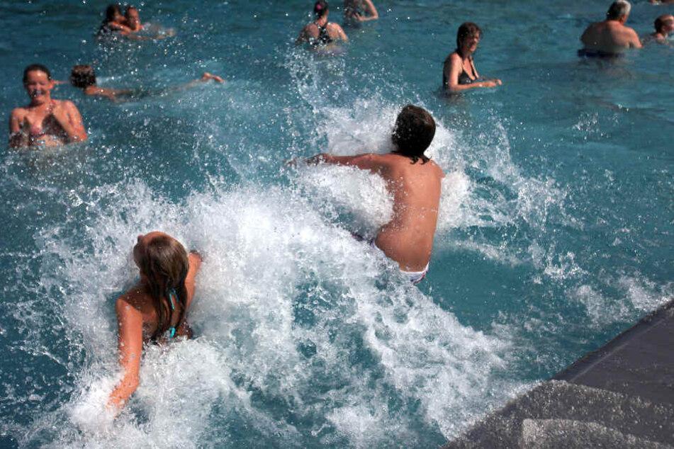Nach langer Pause: Sommerwetter lädt wieder zum Wasserspaß ein