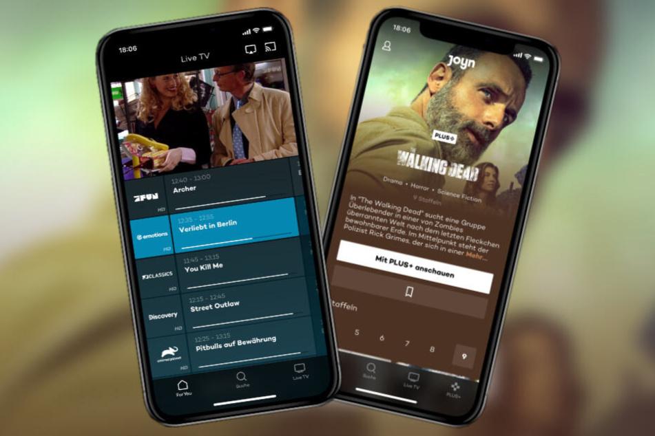 Live-Programm für unterwegs: Joyn bietet jetzt noch mehr Serien und Filme in seiner App.