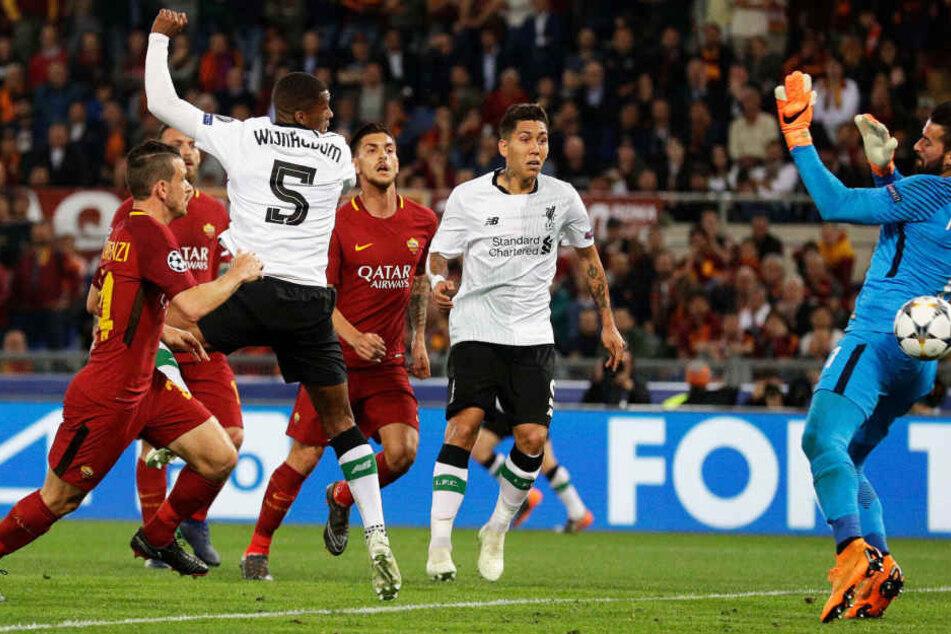 Georginio Wijnaldum trifft zum zwischenzeitlichen 2:1 für den FC Liverpool.