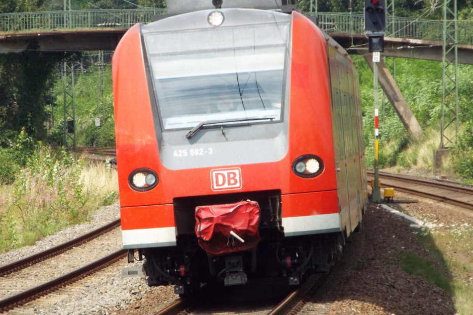 Eine Regionalbahn konnte den Zusammenstoß nicht mehr verhindern. (Symbolbild)